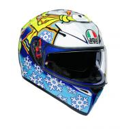 AGV Шлем K-3 SV ROSSI WINTER TEST 2016