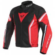 DAINESE AIR CRONO 2 TEX 678 Куртка ткань черный/красный/белый